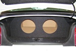 22005-2010 Mustang Subwoofer Box