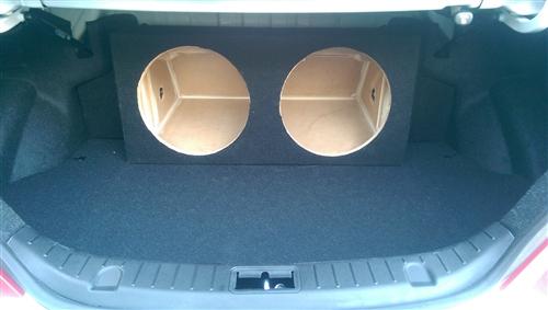 Custom sub enclosure affordable sub box hyundai genesis coupe sub box thecheapjerseys Images