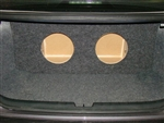 2013-2017 Honda Accord Subwoofer Sub Box w/amp mount area