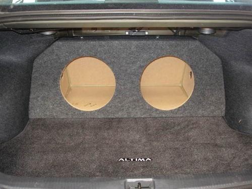 custom sub enclosure affordable sub boxnissan altima subwoofer box