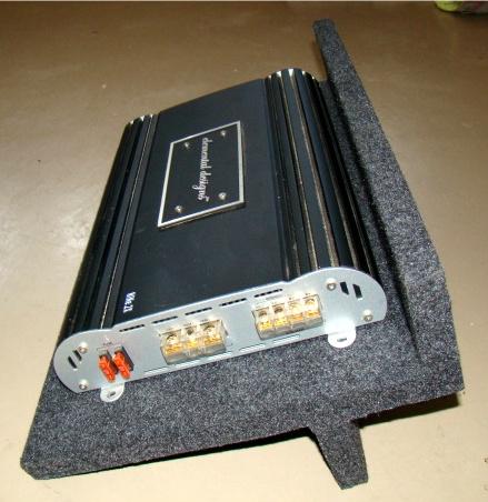 amplifier rack type 2 holds one car audio amplifier amp rack