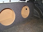 1999-2003 Acura TL Subwoofer Box