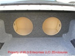 BMW 3 Series Subwoofer Box