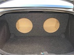 Dodge Charger Subwoofer Box
