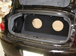 Chevrolet Cobalt 2dr Subwoofer Box