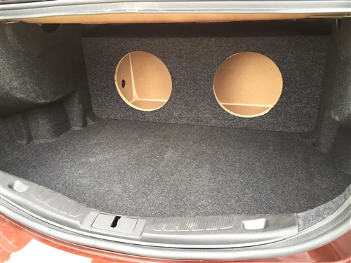 Custom sub enclosure affordable sub box ford fusion subwoofer box altavistaventures Image collections