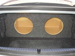 Mazda RX8 Subwoofer Box