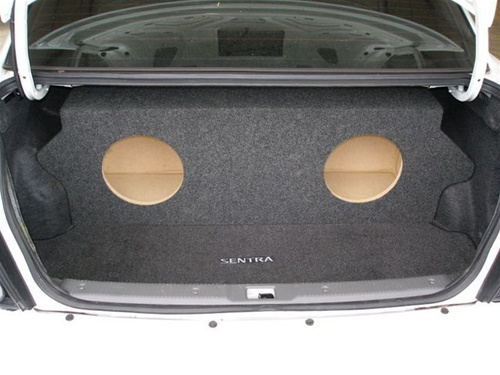 custom sub enclosure affordable sub boxnissan sentra subwoofer box
