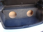 2006-11 Volkswagon GTI Subwoofer Box