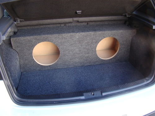 Custom sub enclosure affordable sub box 2006 11 volkswagon gti subwoofer box thecheapjerseys Images