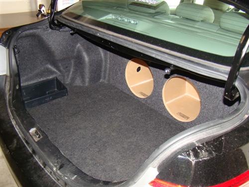 "Zenclosures 2-12/"" Subwoofer Box For 2018-2019 Toyota CAMRY Speaker Enclosure"