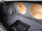 RX8 Subwoofer Box with Amp Rack