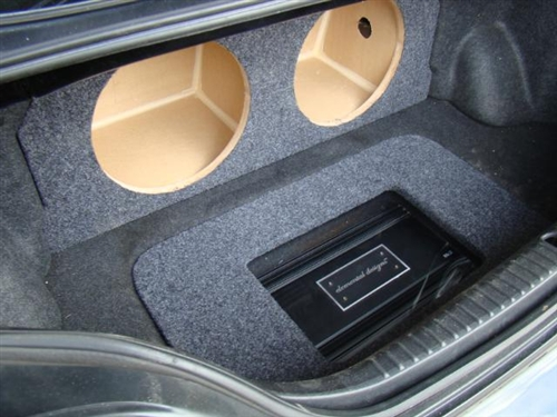 RX8 Subwoofer Box with Amp Rack & Custom Sub Enclosure | Affordable Sub Box Aboutintivar.Com