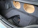 "ZEnclosures 2006-10 Dodge CHARGER Subwoofer Box  2-12/"" W// AMP RACK MOUNT AREA"