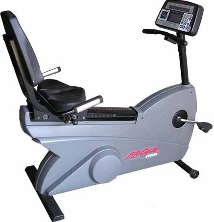 Buy life fitness 9500hr recumbent bike refurbished fitness superstore larger photo email a friend fandeluxe Images
