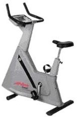Life Fitness 9500HR Upright Bike Image