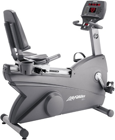 Buy life fitness 95ri recumbent bike refurbished for sale fitness larger photo email a friend fandeluxe Images