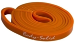 "Body Solid BSTB1 Lifting Band - 1/2"" Orange Image"