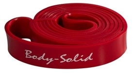 "Body Solid BSTB3 Lifting Band - 1 1/8"" Red Image"