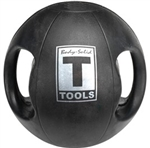 Body Solid Dual-Grip Medicine Ball - 10 lb. Image