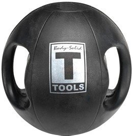 Body Solid Dual-Grip Medicine Ball - 12 lb. Image
