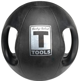 Body Solid Dual-Grip Medicine Ball - 20 lb. Image