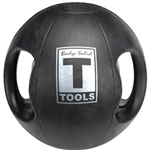 Body Solid Dual-Grip Medicine Ball - 25 lb. Image