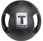 Body Solid Dual-Grip Medicine Ball - 6 lb. Image