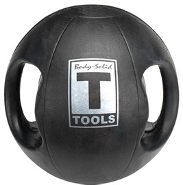 Body Solid Dual-Grip Medicine Ball - 8 lb. Image