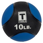 Body Solid BSTMB10 10lb. Medicine Ball - Blue Image
