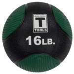 Body Solid 16lb. Medicine Ball - GreenImage