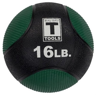 Body Solid BSTMB16 16lb. Medicine Ball - Green Image