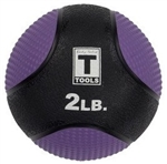 Body Solid 2lb. Medicine Ball - Lt. Purple Image