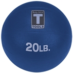 Body Solid 20lb. Medicine Ball - Blue Image