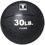Body Solid BSTMB30 30lb. Medicine Ball - Black Image