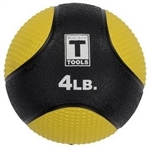 Body Solid 4lb. Medicine Ball - Yellow Image