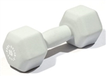 Body Solid BSTND15 Neoprene Dumbbell- 15 lb. Gray Image