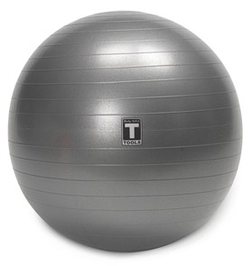 Body Solid BSTSB55 Exercise Ball 55cm Grey Image