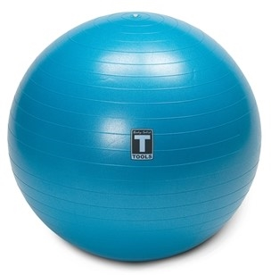 Body Solid Exercise Ball 75cm Blue Image