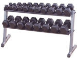Body Solid Pro Dumbbell Rack Image