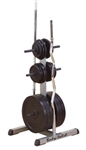 Body Solid Standard Plate Tree & Bar Holder Image