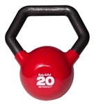 Body Solid KBL20 Vinyl Dipped Kettleball - 20 lb.  Image
