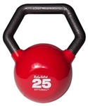 Body Solid KBL25 Vinyl Dipped Kettleball - 25 lb.  Image