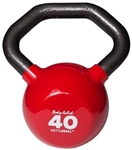 Body Solid KBL40 Vinyl Dipped Kettleball - 40 lb. Image