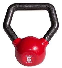 Body Solid Vinyl Dipped Kettleball - 5 lb.  Image