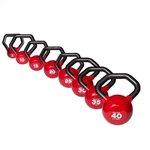 Body Solid KBLS180 Vinyl Dipped Kettleball Set 5-40 lb. Image