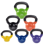 Body Solid KBVS105 Vinyl Coated Kettle Bells Set 5-30 lb. Image
