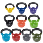 Body Solid Vinyl Coated Kettle Bells Set 5-50 lb. Image
