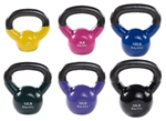 Body Solid KBVS70 Vinyl Coated Kettle Bells Set 5-20 lb. Image