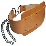 Body-Solid Leather Dipping Belt Image